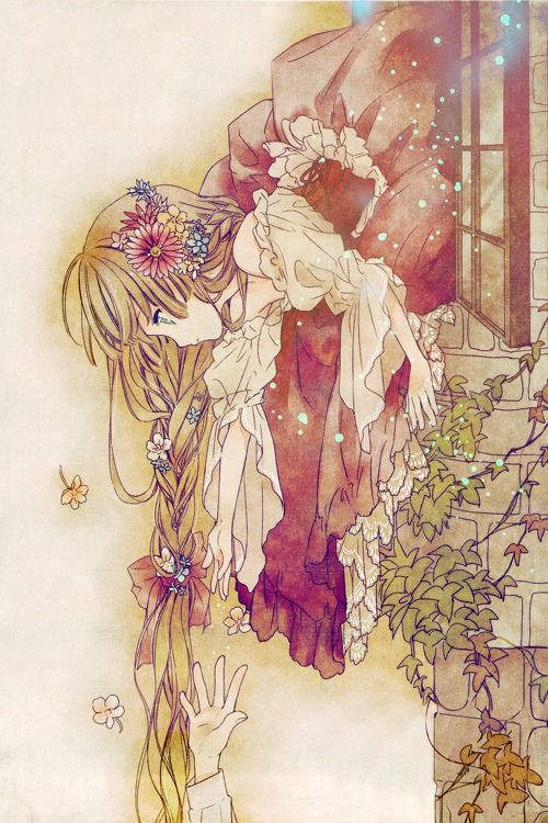 Rapunzel's Tower  ♤ Beautiful Anime Art ♤