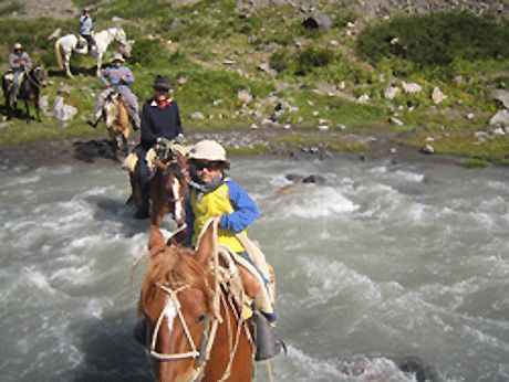 Family Expeditions on horseback -Taking children on rides into the mountains is a huge pleasure to families, but it is more difficult and with more risk and extra responsibility. For this reason prefer to take children over 7 years of age. http://horseridingchile.com/blog/rides/family-expeditions