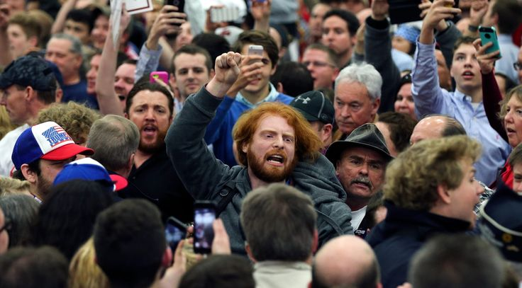 """A federal judge in Kentucky is allowing a lawsuit by three protesters assaulted at a Donald Trump campaign rally last March to move forward, agreeing with the plaintiffs that Trump's call from the podium for his supporters to """"get 'em out of here"""" incited rally-goers to physically attack them.    The three protesters have sued Trump for incitement, vicarious liability, negligence, gross negligence, and recklessness."""