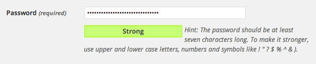Using the Included Password Strength Meter Script in WordPress - Tuts+ Code Article