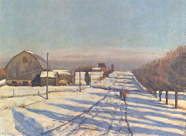 ALBERT FRANCK - Canada / Canadá - Winter in Ontario / Invierno en Ontario