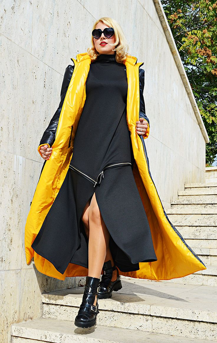 Just launched! Two Faces Padded Jacket , Double Faced Winter jacket, Black and Orange Winter Coat , Maxi Padded Jacket, TC105 by TEYXO https://www.etsy.com/listing/548966398/two-faces-padded-jacket-double-faced?utm_campaign=crowdfire&utm_content=crowdfire&utm_medium=social&utm_source=pinterest