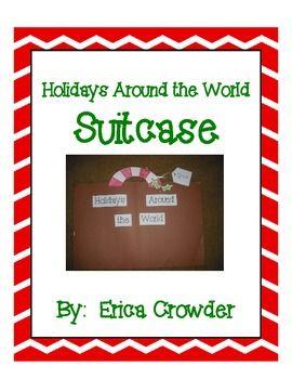 Holidays Around the World Suitcase ~ Freebie
