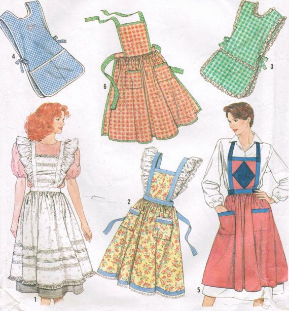 1990s Simplicity 9807 Vintage Sewing Pattern by midvalecottage