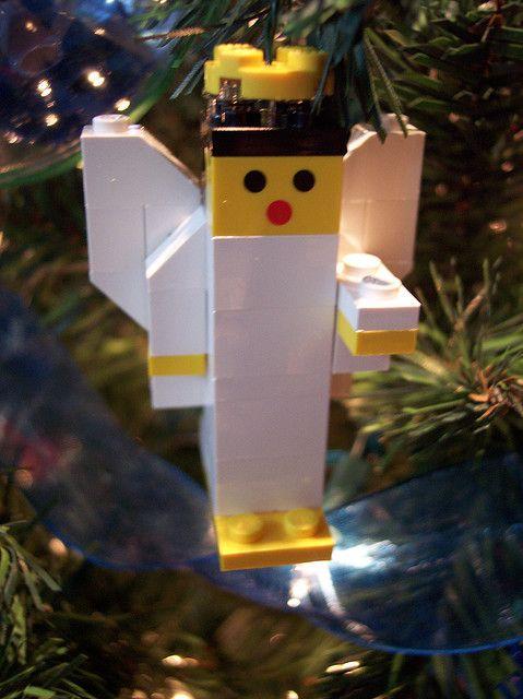 lego angel ornament