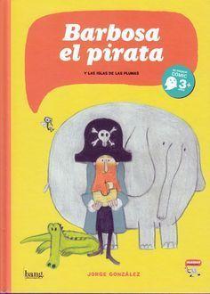 El capitán Barbosa viaja con su peculiar tripulación, un elefante y un cocodrilo con ganas de pasarlo bien, cuando una gaviota le roba el sombrero. La tranquilidad se transforma en un tropel de divertidas sorpresas que conducen a la cuadrilla hasta las Islas de las Plumas, en donde descubrirá el verdadero destino de su gorro.Una dulce aventura en clave de cómic para los pequeños lectores... #LIJ #viajes #piratas