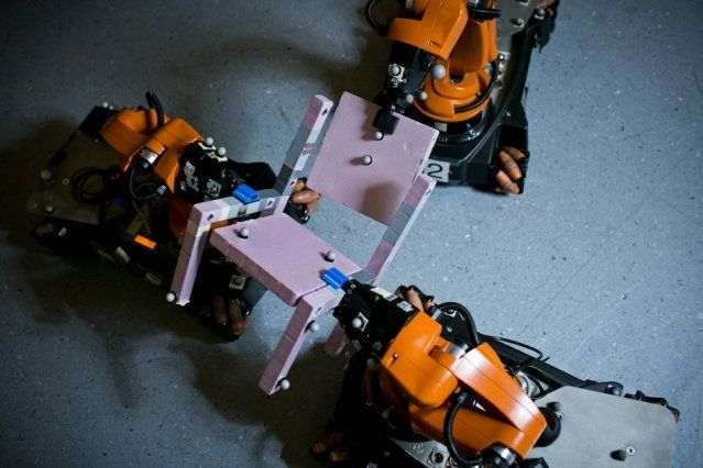 New algorithm lets autonomous robots divvy up assembly tasks on the fly | This week a group of MIT researchers were nominated for two best-paper awards for a new algorithm that can significantly reduce robot teams' planning time. [The Future of Robotics: http://futuristicnews.com/category/future-robots/]