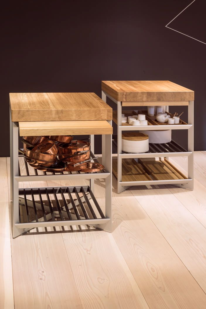 Nice photo of the bulthaup preparation elements. The open design allows you to store and show cherished cooking items that give each kitchen its unique character. www.bulthaup.com #bulthaup #kitchens
