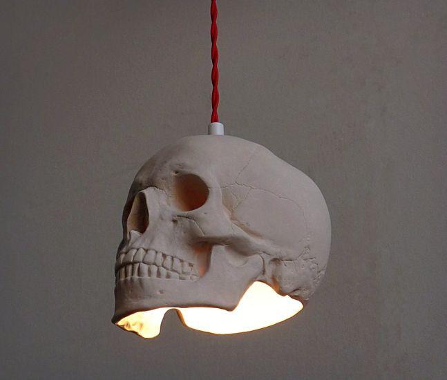 Skull Pendant Light | Cool Material