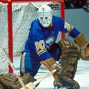 Gerry Desjardins | Buffalo Sabres: Old school, an early hockey hero of mine. I read his biography when I was seven years old.