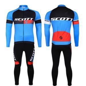Scott Maillot de Cyclisme Manches Longues + Cuissa