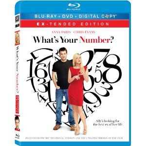 Amazon.com: What's Your Number? (Ex-tended Edition) [Blu-ray/DVD Combo+Digital Copy]: Chris Evans, Anna Faris, Blythe Danner, Ari Graynor, Heather Burns: Movies & TV