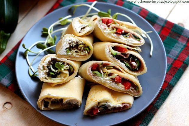 Qchenne-Inspiracje! FIT blog o zdrowym stylu życia i zdrowym odżywianiu. Kaloryczność potraw. : Lunch box do zabrania do pracy lub szkoły! Rollsy ...