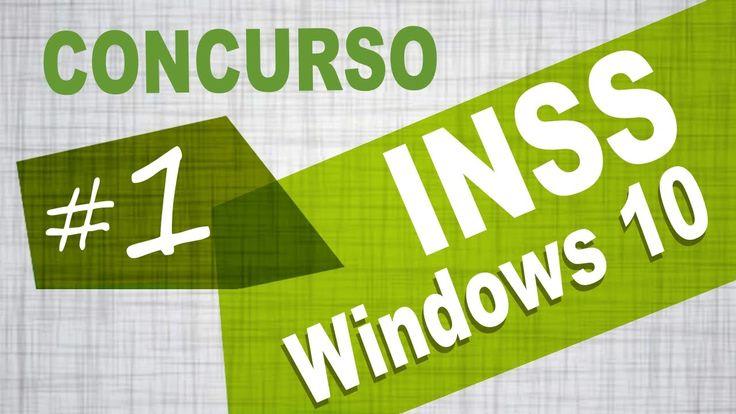 Windows 10 Concurso INSS CESPE - Aula Grátis 1 - Veon | Publicado em 29 de fevereiro de 2016.