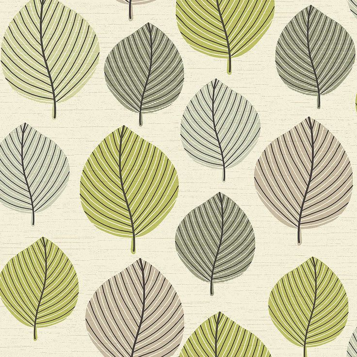 Regan Green Wallpaper | Dunelm
