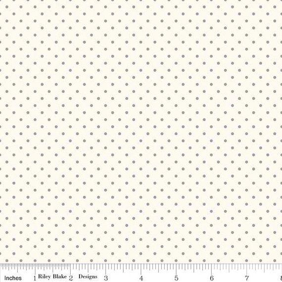 Riley Blake Fabric Honeycomb Dot Orange HALF METRE