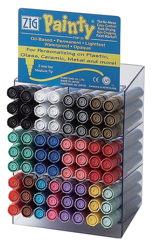 ZIG Painty Bullet Tip Display of 144