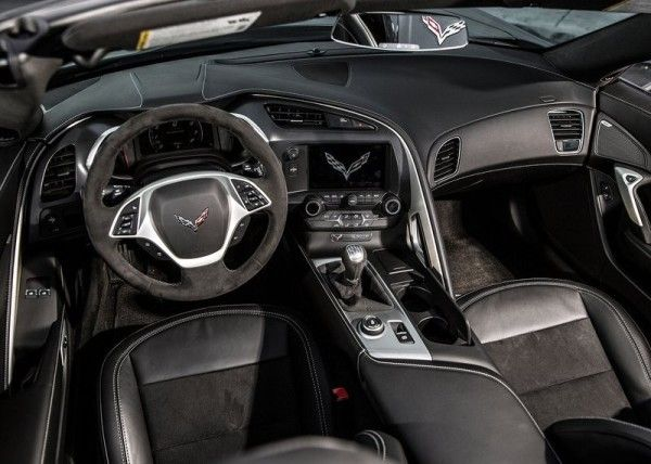2014 Chevrolet Corvette C7 Stingray Convertible Black Interior
