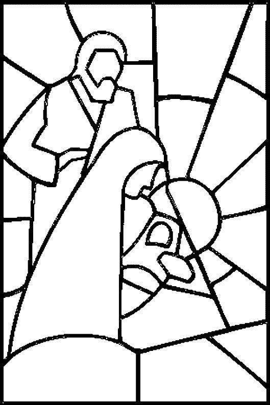 dessin de creche de noel a imprimer - Recherche Google