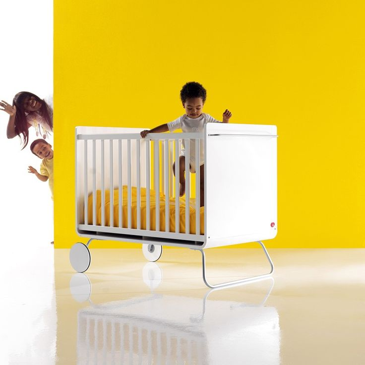 BE White Cot   Designer Cribs   Wooden Cots