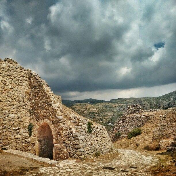 Castle, Chora, Kythira.