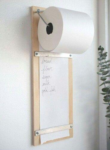 Grocery list DIY