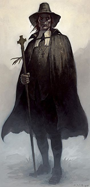 The Reverend - Gerald Brom | Fantasy Art