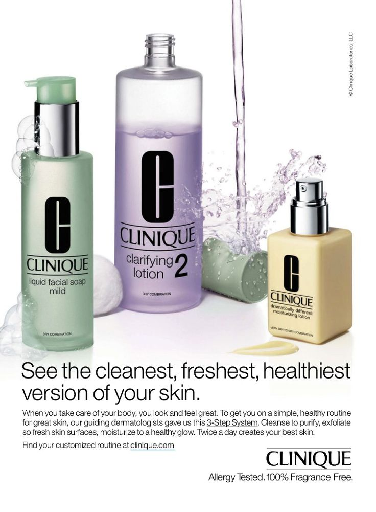 Clinique Advertising Cosmetic & SkinCare Advertising