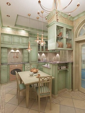 Adorable Kitchen. I like classy better, but this is still very nice