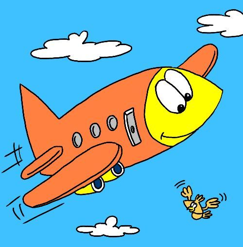17 Best images about Cartoon Airplanes on Pinterest   Blank banner ...