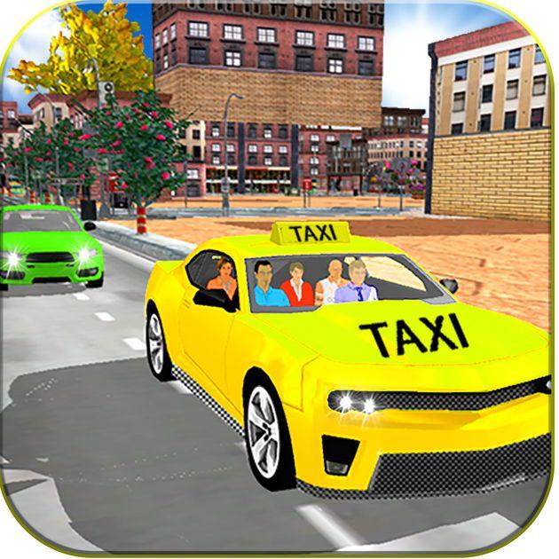 #NEW #iOS #APP Taxi Driving Sim 3D - AHMAD ARBAB ABID