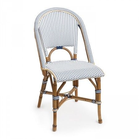 St Tropez Side Chair 1x1 Navy