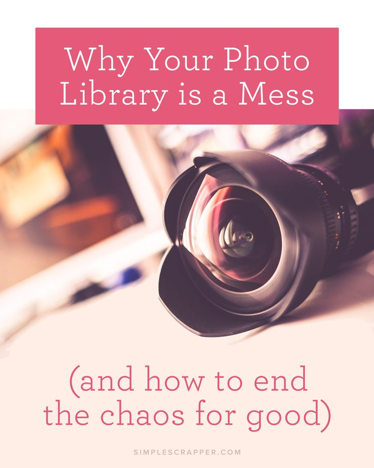 5 of the most common reasons that your photo library is making you feel overwhelmed – and how you can finally gain control of your photographs.