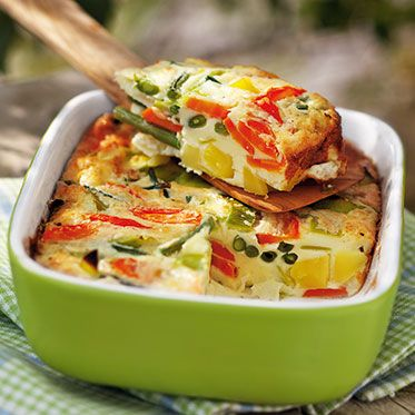 Bunter Gemüseauflauf Rezept | Küchengötter