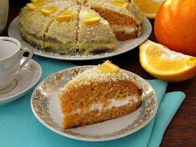 Вот честное слово, не фанатка я морковной выпечки... будь-то кексы или торты))) Но этот тортик меня просто покорил!!!!! Ну ооочеееньь вк...