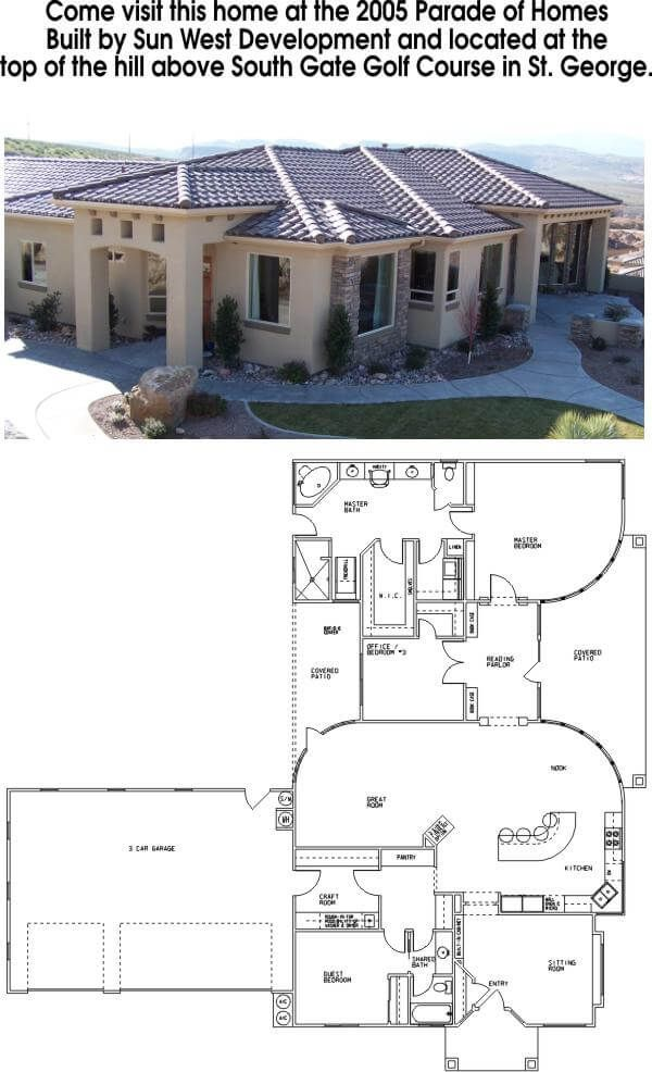 House Floor Plans Utah Draw Works Quality Home Design Mediterranean Style House Plans House Plan Gallery Courtyard House Plans