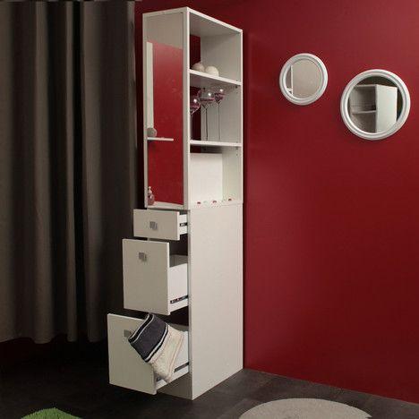 Yli tuhat ideaa colonne salle de bain pinterestiss - Colonne de salle de bain avec miroir ...