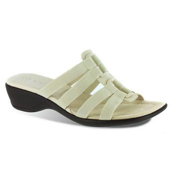Easy Street Summer Wide Slide Sandals - Women