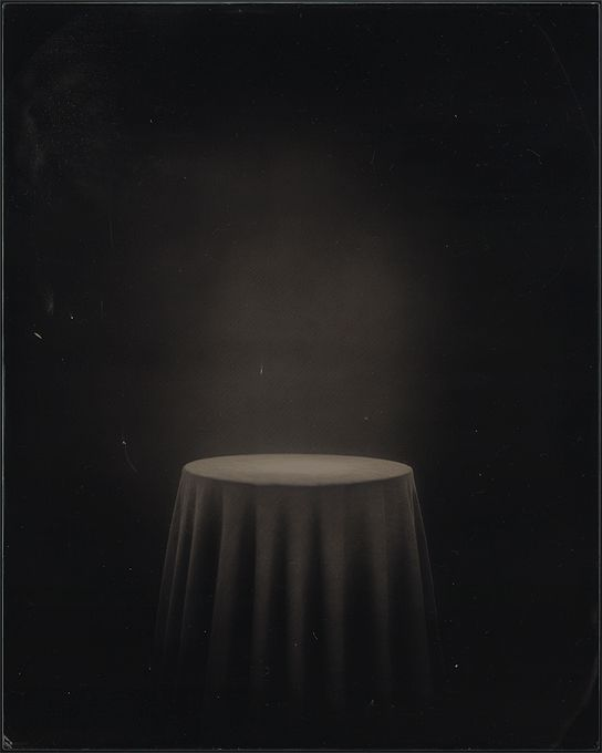 An Inexplicable Occurence, 2013, ambrotype, 250 x 200 mm