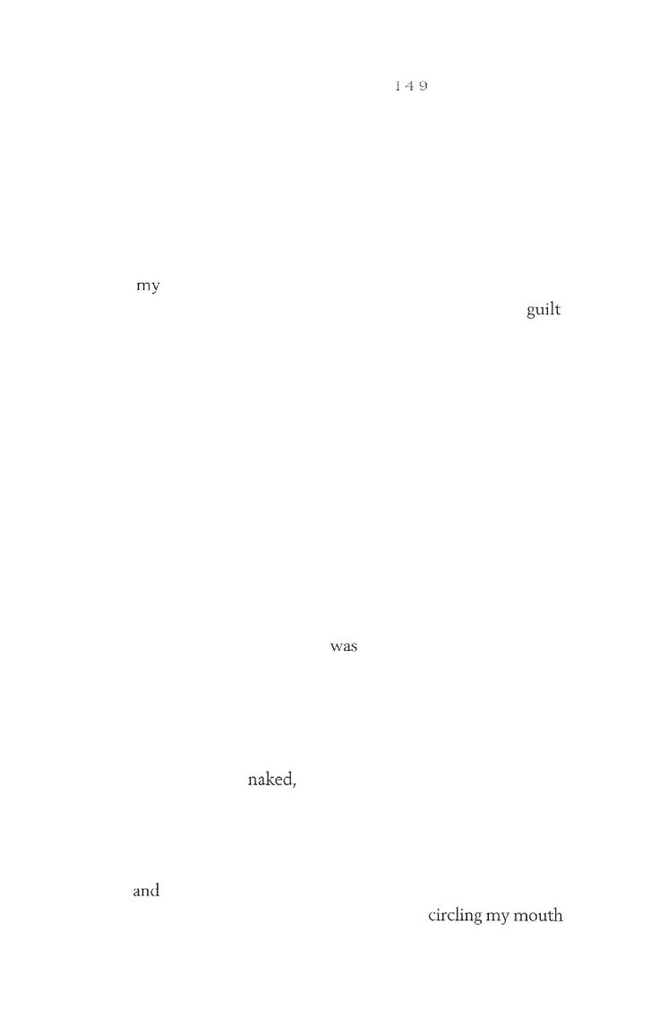 Bite Marks pg.149, Dada Poetry by brian pounders
