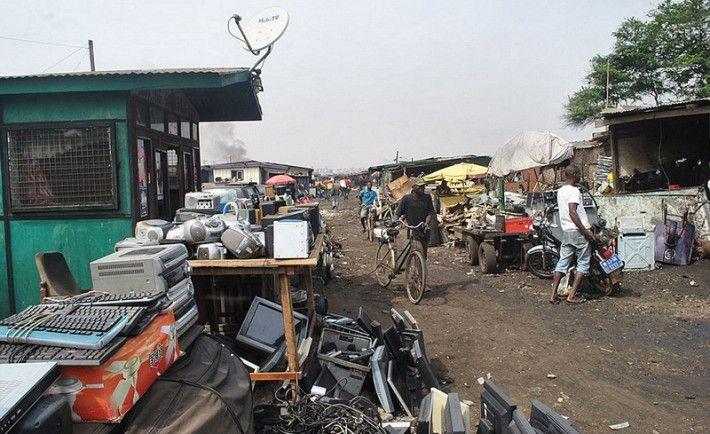 Déchets-électriques-Afrique