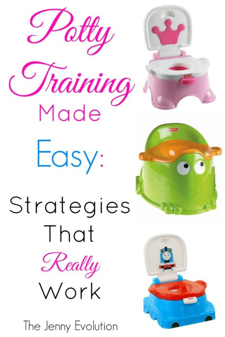 Potty Training Made Easy: Strategies That Really Work | The Jenny Evolution