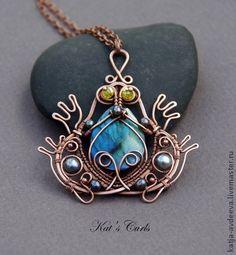 wire frog jewelry | Jewelry & Wire Design Inspiration
