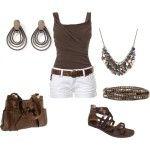 Summer Dresses – Brown – Summer