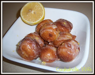 ... Challenge: Lemon and Sour Cream Donuts | Sour Cream, Donuts and Lemon