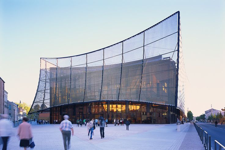 Image 1 of 48 from gallery of Albi Grand Theater / Dominique Perrault Architecture. Photograph by Georges Fessy