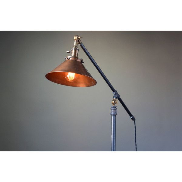 Edison floor lamp 25 pinterest diy articulating floor lamp floor lamp edison floor lamp industrial 245 mozeypictures Choice Image