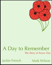 Jackie French and Mark Wilson have created an excellent book about the history of Anzac Day. This webpage has links to information about the author and illustrator, primary and secondary sources about Anzac Day and interactive activities.