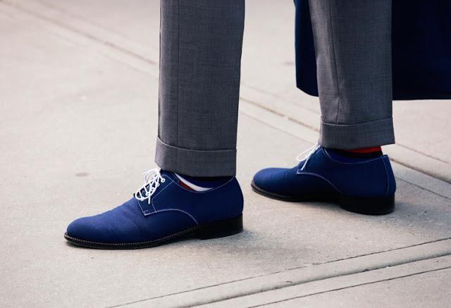 Дерби под синие джинсы