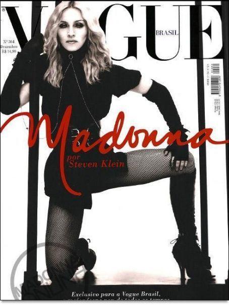 Madonna - Vogue Magazine [Brazil] (December 2008)